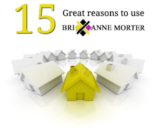 15 great reasons to use Brixanne Morter Estate Agents